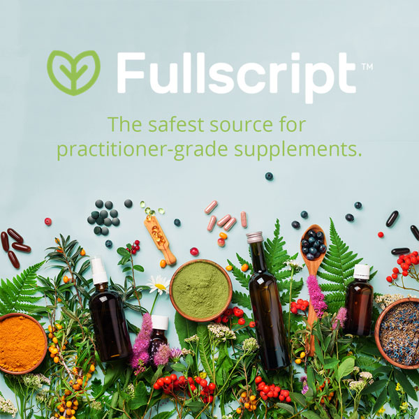 Practitioner-grade supplements from Angela Manderfeld in partnership with Fullscript